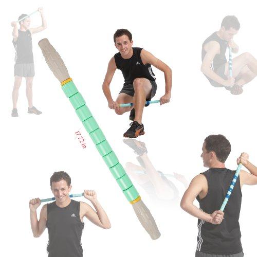 Massage à rouleaux Gurin (douleurs musculaires Treats, nœuds et les points de déclenchement, les blessures sportives, massage musculaire, augmenter la force)