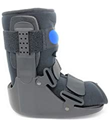 The Superior Braces Low Top, Low Profile Air Pump CAM Medical Orthopedic Walker Boot for Ankle & Foot Injuries is a top of the line pneumatic (air pump and liner bladder) protective boot. This CAM walker allows you to adjust the level of ...
