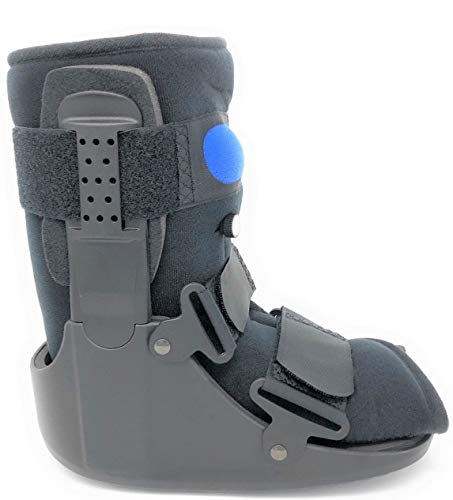 Superior Braces Low Top, Low Profile Air Pump CAM Medical Orthopedic Walker Boot for Ankle & Foot Injuries ()