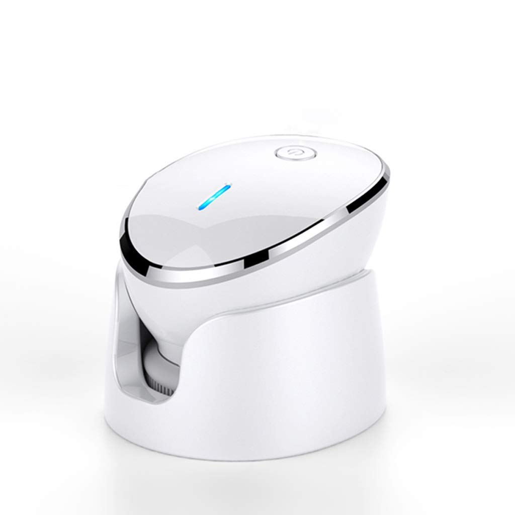 I want to fly freely Cleansing Instrument Electric Beauty Instrument Deep Cleaning Instrument Home Face Lifting Firming Massage Face Export Import Instrument (Color : White) by I want to fly freely