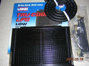 Long Tru-Cool LPD Transmission Oil Cooler 4590 28, 000 GVW Dana Corporation Long Manufacturing