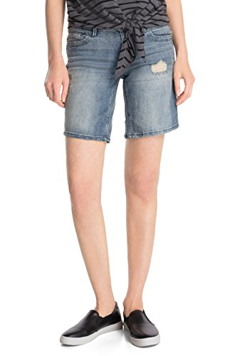 Esprit Denim Short 045cc1c015 - Pantalones Mujer Blau (C BLUE VISUAL 966)