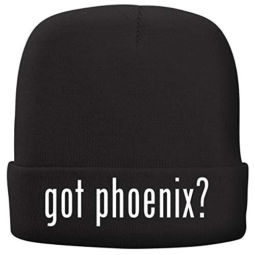 got Phoenix? - Adult Comfortable Fleece Lined Beanie, Black