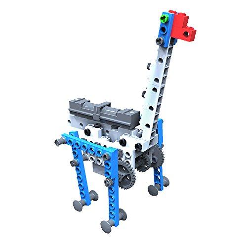 [AR Motorial Building Robot, SainSmart Jr. Blocks Team BT-03 New Creative Educational Robotics Blocks, DIY Assembling Robot Set, with Comics AR View, Foresting STEM Skills] (Diy Star Wars Dog Costumes)