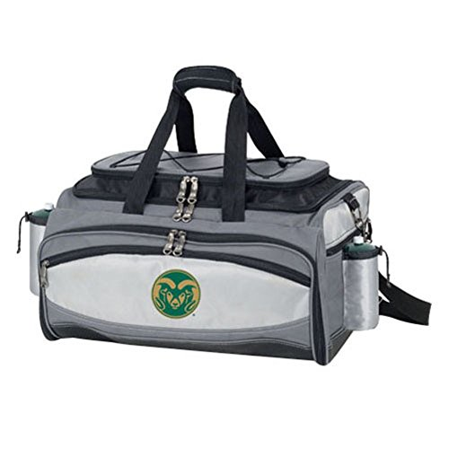 NCAA Colorado State Rams Embroidered Vulcan Set, One Size, Black by PICNIC TIME