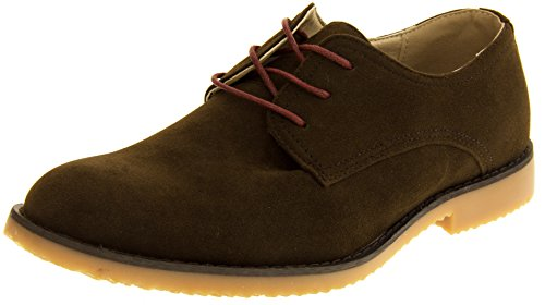 Northwest Chaussures décontractées pour Smart Ups marron daim à lacets 6–12. THOMAS) (tailles