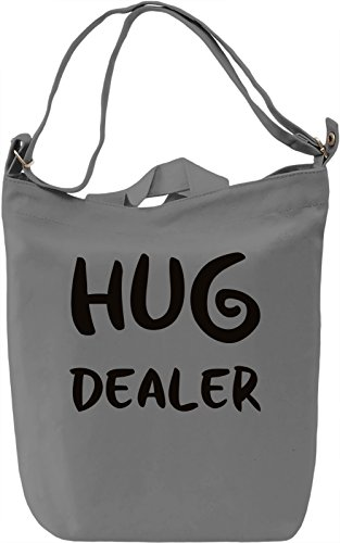 Hug Dealer Borsa Giornaliera Canvas Canvas Day Bag| 100% Premium Cotton Canvas| DTG Printing|