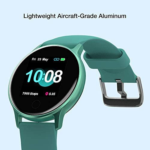 """UMIDIGI Smart Watch for Android Phones Compatible with iPhone Samsung, Fitness Tracker with Heart Rate Monitor, 5ATM Waterproof Watch for Women Men, 1.3"""" Touch Screen and Personalized Watch Faces 2"""