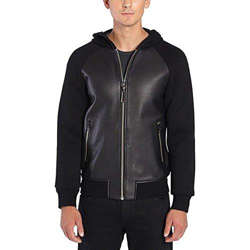 [マッカージュ] メンズ ジャケット&ブルゾン Gibb Leather Bomber Jacket [並行輸入品] B07DHMKWC1 38