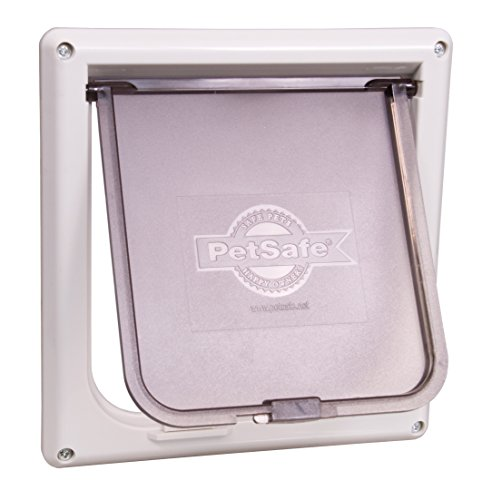 PetSafe Interior 2-Way Locking Cat Door, White 41MfD4HTESL
