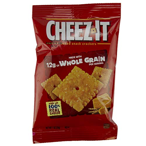 Cheez-It Crackers Made with Whole Grain, 1 Ounce, 60 Count