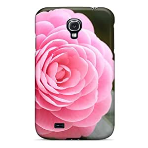 Faddish Phone Lovely Pink Rose Case For Galaxy S4 / Perfect Case Cover