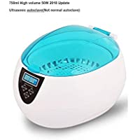 Kowellsonic JP-890 Sterilizer Pot Salon Nail Tattoo Clean Metal,Watches Tools Equipment ,Ultrasonic autoclave Cleaner For Nail Cleaning--Blue