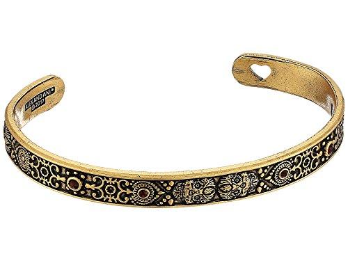 - Alex and Ani Women's Calavera Cuff Bracelet, Rafaelian Gold