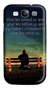 Quotes Sayings What Lies Custom Polycarbonate Plastics Case for Samsung Galaxy S3 / S III/ I9300