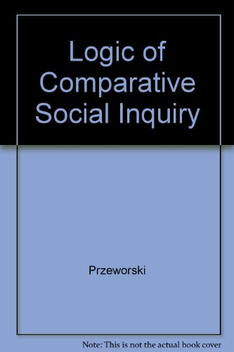 Logic of Comparative Social Inquiry