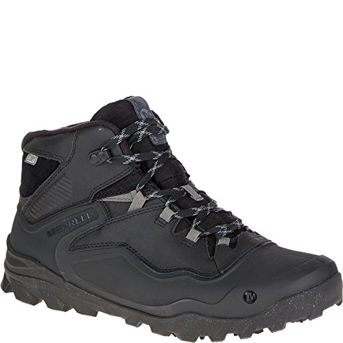 Merrell Men's Overlook 6 Ice + Waterproof Winter Boot, Black, 9.5 M US - Merrell Winter Boots