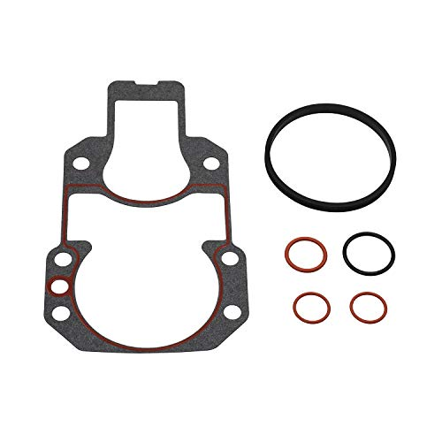 (Quicksilver 94996Q2 Bell Housing Installation Gasket Kit - MerCruiser R, MR and Alpha One Gen II Drives)