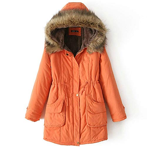 Safari Armoire - Parkas Female Women Winter Hooded Coat Thickening Cotton Jacket Womens Warm Wint