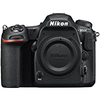 Nikon D500 20.9MP 4K Ultra HD Wi-Fi Digital SLR Camera Body (Black) - Manufacturer Refurbished