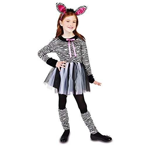 Zebra Girl Child Dress Up Costume S -