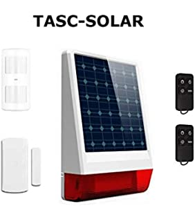 Kit Alarma Solar GSM, SIN CUOTAS: Amazon.es: Industria ...