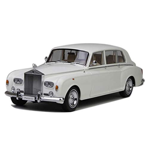 GCM 1:18 Rolls-Royce Phantom Classic Sixth Generation Car Model Simulation Car Metal Alloy Car Toy Collection Collection Gift ( Color : White )