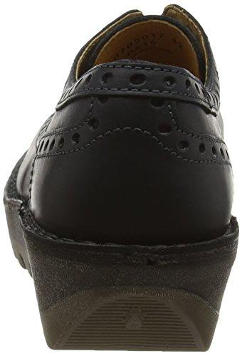 Fly London Jane - Zapatos para mujer Negro