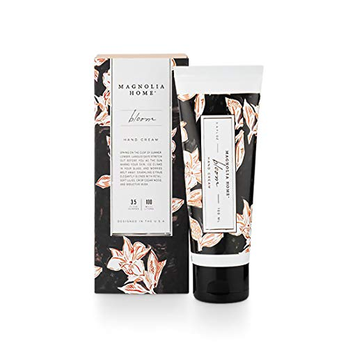 Magnolia Home Fragrance Bloom Scent 3.5 Ounce Boxed Moisturizing Hand Cream
