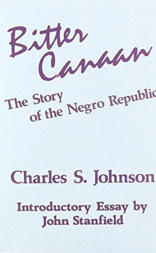 Books : Bitter Canaan
