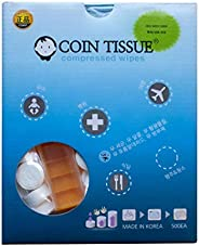 Compressed Coin Tissue 500pcs and Case (Handy Wipes, Restaurant)