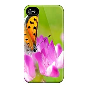 Premium Durable Diving By To Eat Fashion Tpu Iphone 4/4s Protective Case Cover