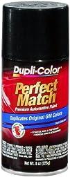 Dupli-Color BGM0538 Black Metallic General Motors Exact-Match Automotive Paint - 8 oz. Aerosol