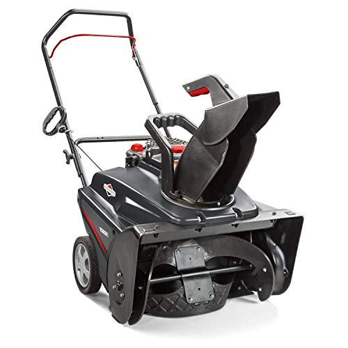 Briggs & Stratton 1696737 Single Stage Snow Thrower with 208cc Engine, 22""