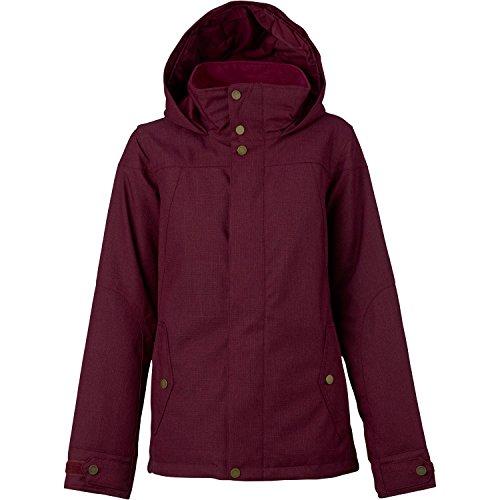 et Jacket, Sangria, Small (Burton Ladies Snowboard Clothing)