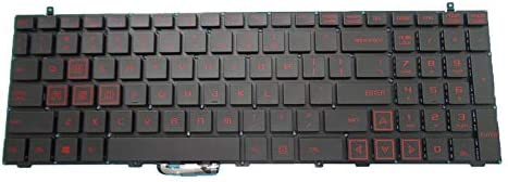 Laptop Keyboard for BBEN X6 15.6 English US Black Without Frame New
