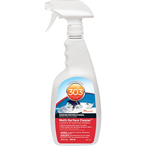 303 (30204) Multi-Surface Cleaner Trigger Sprayer, 32 Fl. oz. (Guard Back Stainless)