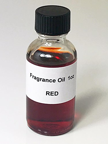 Red Fragrance Oil 1oz Perfume Type Body Oil Perfume Oil Alcohol Free Made in the USA by Lieber's Candles