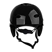 MonkeyJack Universal Unisex Adult Kids Water Sports Safety Helmet Rescue Kayak Canoeing Boating Sailing Surfing SUP Paddle Board Wakeboard Jet Ski Kite Surf Protective Hard Cap CE Approved M/L 54-60cm/58-62cm