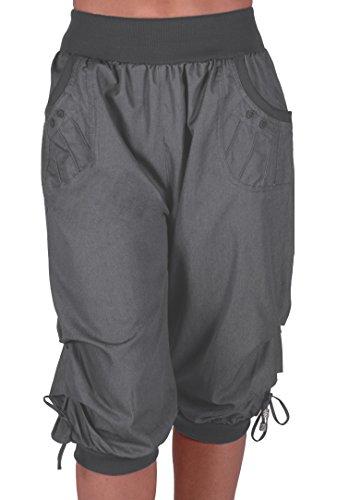 Linen Crop Capri Pants - 3