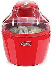 Americana EIM-1400R By Elite Maxi-Matic 1.5 Quart Automatic Easy Homemade Electric Ice Cream Maker, Frozen Yogurt, Sorbet, Gelato Treat, with Recipes, Red