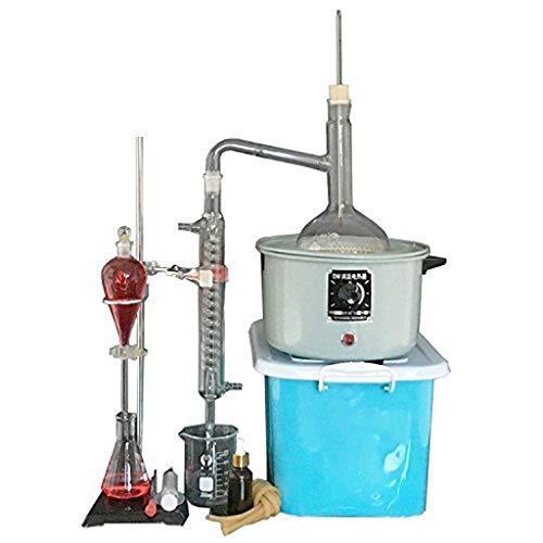 Expander-min Teaching Research 1000 Ml Essential Oil Pure Water Burner Glassware Laboratory Distillation Unit 1SDFETQ-823-1