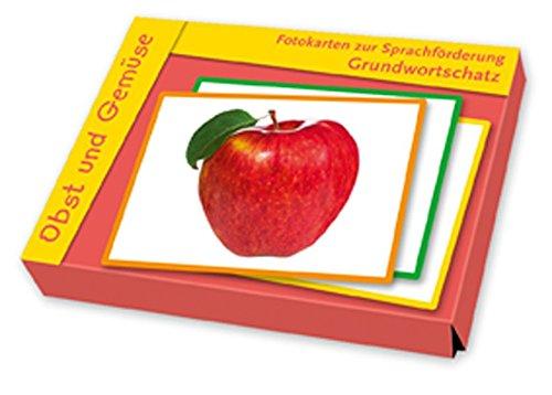 Grundwortschatz  Obst Und Gemüse  Fotokarten Zur Sprachförderung