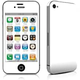 Apple iPhone4/iPhone 4S用スキンシール 【Solid State White】