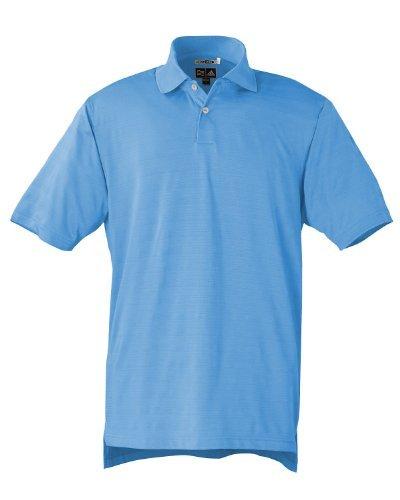 (Adidas Men's Climacool Mesh Polo Performance Shirt, True Blue, Large)
