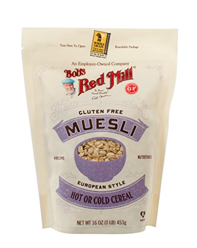 Bob's Red Mill Gluten Free Muesli, 16-Ounce (Package May Vary)