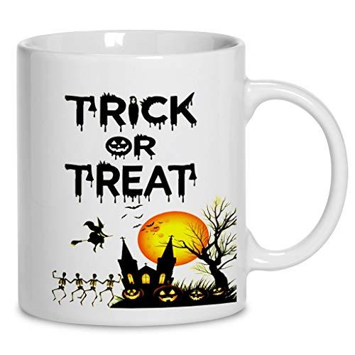 Trick Or Treat Halloween Coffee Mug 11oz &