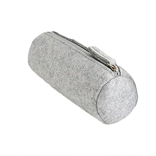 Hanbaili Multifunktionale Filzstift Tasche Stift Gläser Kosmetik Make-Up Aufbewahrungskoffer Reißverschluss Beutel Schreibwaren Schulbedarf