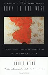 A History of Japanese Literature:  Volume 4: Dawn to the West