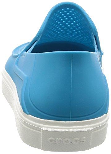 Électrique Citlnrkaslpw Crocs Femme Baskets Bleu nAqUwUcW